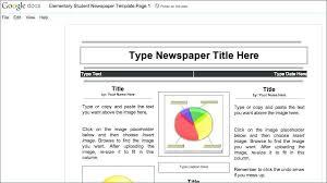 Newspaper Template Free Google Docs Colonial Newspaper Template Handy Google Docs Templates For