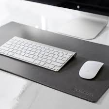 leather desk pad brown