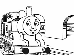 Custom timothy the ghost engine trackmaster thomas & friends thomas y amigos 托馬斯和朋友 томас и друзья. Free Printable Train Coloring Pages For Kids