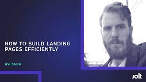 Wix: How to Build A Killer Landing Page • Jolt
