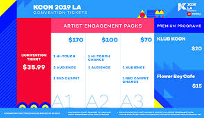 Kcon Seating Chart 2018 Kcon La Convention Tickets Kcon Usa Official Site