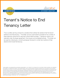 8 Tenants Notice Letter Phoenix Officeaz