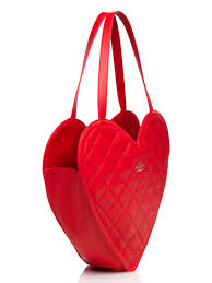 Kate Spade Red Quilted Bag | Trend Bags & Kate Spade New York Secret Admirer Quilted Heart Tote In Red Lyst Adamdwight.com