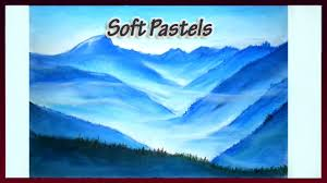 soft pastel landscape painting for beginners painting techniques you