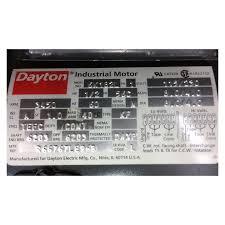 unused 1 2 hp dayton industrial electric motor 56c frame 3450 rpm
