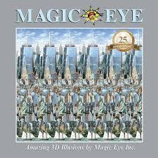 Magic Eye 25th Anniversary Book - By Cheri Smith (Hardcover) : Target