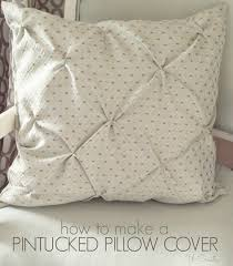 How To Sew Decorative Pillow Covers