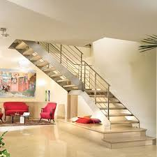 double stringer staircase stainless steel glass staircase glass railing