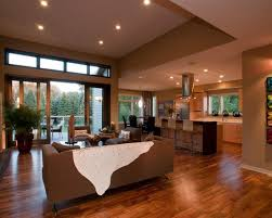 2 Ranch House Plans With Open Floor Plan Excerpt One Contemporary Modern Open Floor House Plans