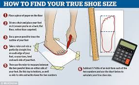 Why Youre Probably Wearing The Wrong Shoe Size Daily Mail
