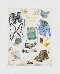 Birding Equipment Chart Madeleinedonahue