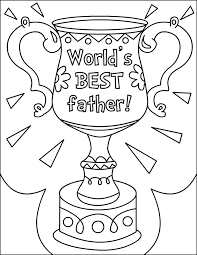 fathers day coloring pages 2 kids
