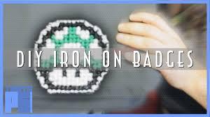diy iron on patch