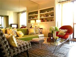Yellow Living Rooms Living Room Golden Yellow Living Room With Bright Lighting And
