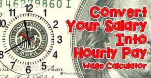 Salary Expenses Calculator Wage Calculator Convert Salary To Hourly Pay Financial