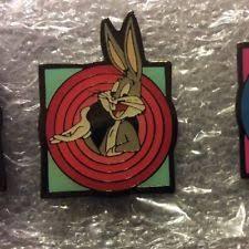 casper candy sticks. barratts candy sticks, looney tunes pin badge,bugs bunny, warner brothers 1990, casper candy sticks