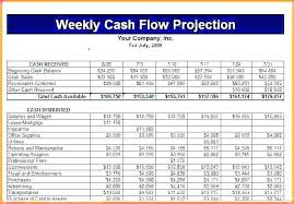 weekly cash flow projection template weekly cash flow template excel readleaf document