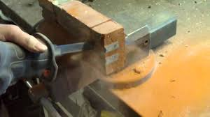 masonry sawzall blade. blue label reciprocating saw blade cutting brick beam w/stainless steel - youtube masonry sawzall a