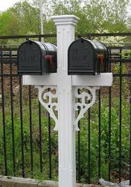Double Mailbox Post Ideas Droughtrelieforg
