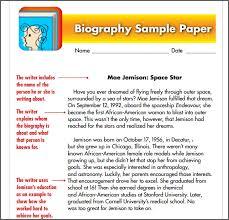make use of biography templates space explorer biography