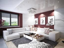 Modern Living Room For Apartment Modern Apartment Living Room Decoration Stock Photo Picture And