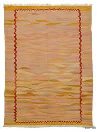 pink orange new turkish kilim area rug