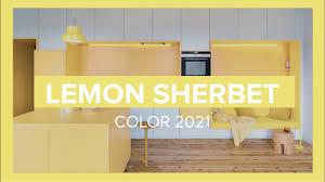 Lemon Sherbet Spring/<b>Summer Color</b> Trend 2021