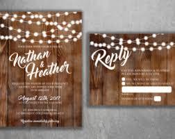 wedding invitation kits etsy Handmade Wedding Invitations Etsy rustic wedding invitations, burlap, kraft, wood, country wedding invitation, affordable, Elegant Wedding Invitations