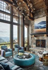 locati architects. The Vaulted Ceilings, Large Open Windows,\u0026nbsp;and Teal Furnishings Are What Make Locati Architects