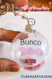 cute as a fox bunco ornament