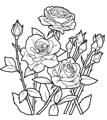 Coloring Pages Flower Coloring Sheets Flower Coloring Sheets For