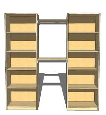Organizing a Closet with a DIY Closet Organizer The Country Chic