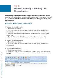 Daftar kumpulan rumus excel 2007, 2010, 2013, 2016 yang sering digunakan lengkap dan fungsinya beseserta contohnya bisa di download format pdf. E Book 25 Tips And Tricks Ms Excel Functions Formulaes