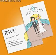 wedding invitation postcards vector design template free download Wedding Invitation Postcard Vector wedding invitation postcards vector design template free download vector and psd - wedding invitation postcard