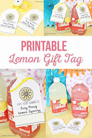 Summer Gift Tags Best Diy Crafts Ideas Lemon Gift Tag For Summer For A