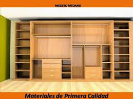 closet de madera modernos fotos closets modernos de madera bs 2 50 en mercado libre