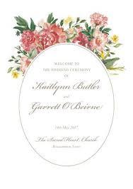 Wedding Ceremony Program Cover Printable Ceremony Covers Wedding Stationery From Appleberry Press