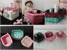 Handmade Things For Room Decoration Diy Room Decoration Recycled Newspaper Into Basket Youtube