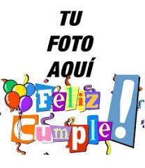 Postal De Feliz Cumpleaños Con Letras En Colores
