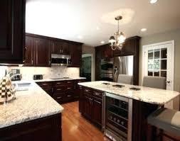 dark cabinets light granite dark cabinets light granite dark brown cabinets with light granite countertops