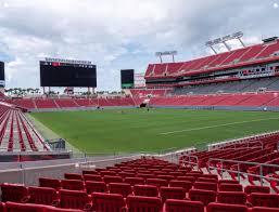 Raymond James Stadium Section 144 Seat Views Seatgeek