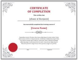 free training completion certificate templates customize 268 completion certificate templates online canva