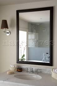 Mirror Design Ideas Sus Black Framed Bathroom Mirror