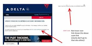 Phishing Scam Beware Phishing Scam Is Posing As Delta For Your Data