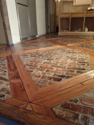 wood floor inlays. Sandblasted 2 X 4 And Brick Floor - Awesome Photos Step By Step! 1900 Farmhouse: March 2011 Wood Inlays