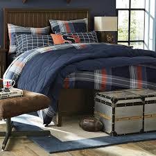 classic plush comforter sham pbteen with regard to teen boys sets prepare 18 com brown blue orange