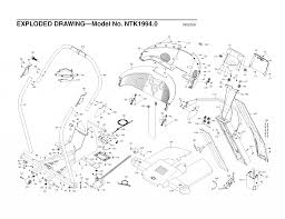 Nordictrack x10 incline trainer treadmill parts n 19940 n 19940 page 2 wiringm proform circuit horizon