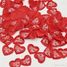 Black Heart Shaped Confetti Handmade Table Decor Party