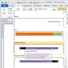 Handy Tips For Headers And Footers In Microsoft Word