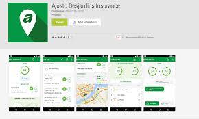 desjardins general insurance group inc released a mobile app for apple and google android devices